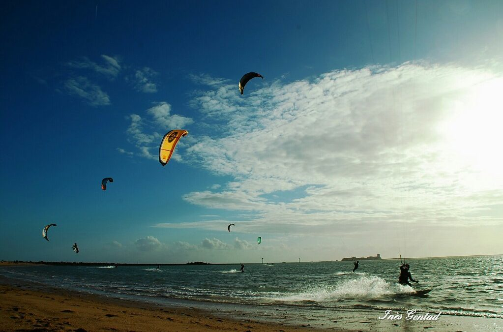 Video de kitesurf en Sancti Petri