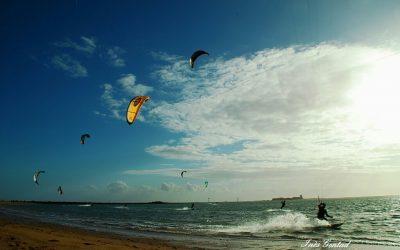 Video de kitesurf en Sancti Petri